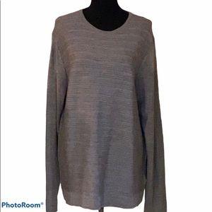 Calvin Klein Italian yard long sleeved sweater, XL
